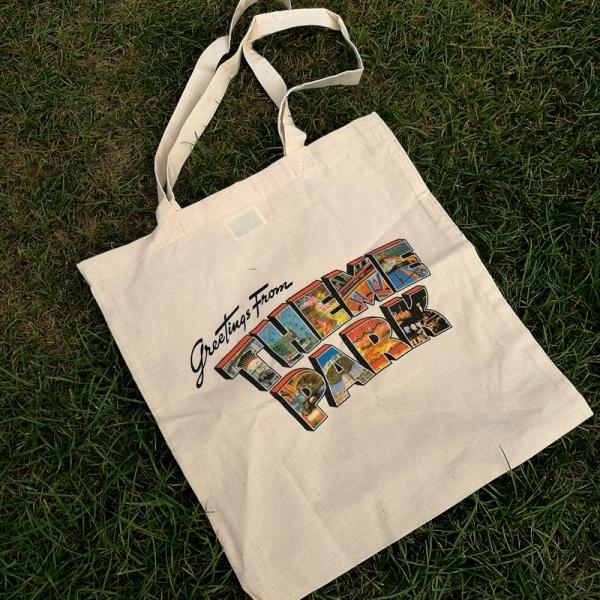 Buy Online Theme Park - Greetings From Theme Park Tote Bag