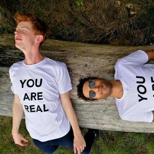 Buy Online Theme Park - You Are Real T-Shirt (White)