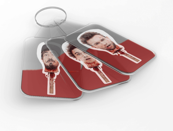 Buy Online The Midnight Beast - Shtick Head Keyring