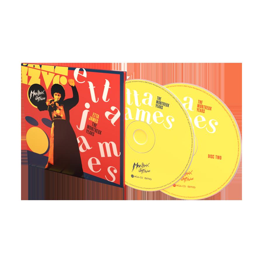 Buy Online Etta James - The Montreux Years Double CD Album