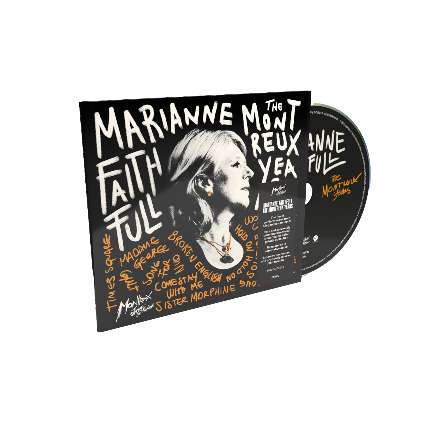 Buy Online Marianne Faithfull - The Montreux Years CD Album