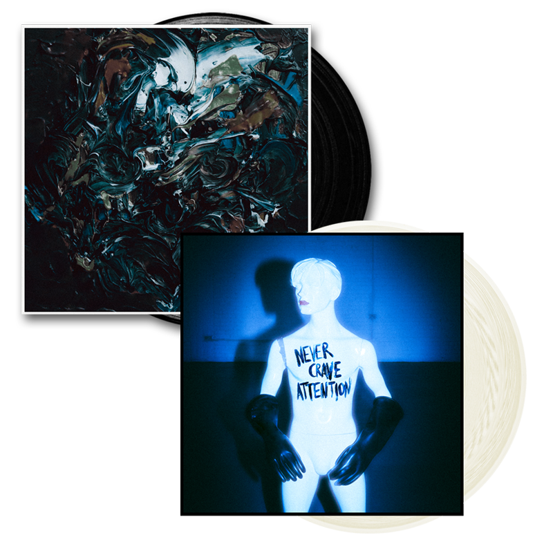 Buy Online The Ninth Wave - Never Crave Attention 10-Inch Vinyl + Reformation 10-Inch Vinyl