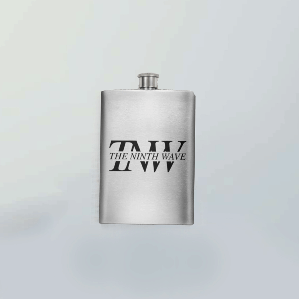 Buy Online The Ninth Wave - Hip Flask