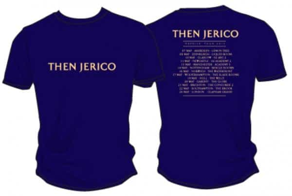 Buy Online Then Jerico - 'REPRISE' Tour Dates 2013 T-Shirt Navy (Very Limited Quantity)