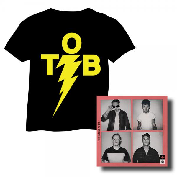 Taking Care Of Business T-Shirt & Coloured Vinyl