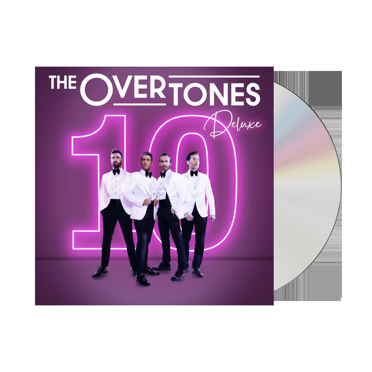 Buy Online The Overtones - 10 Deluxe CD (Signed)