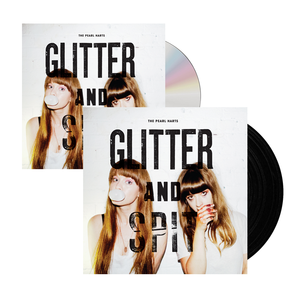 Buy Online The Pearl Harts - Glitter And Spit CD + Vinyl