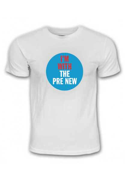 Buy Online The Pre New - I'M WITH THE PRE NEW logo
