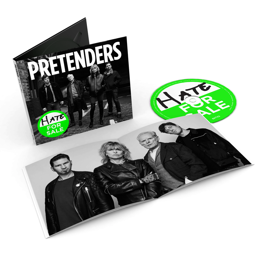 Buy Online The Pretenders - Hate For Sale
