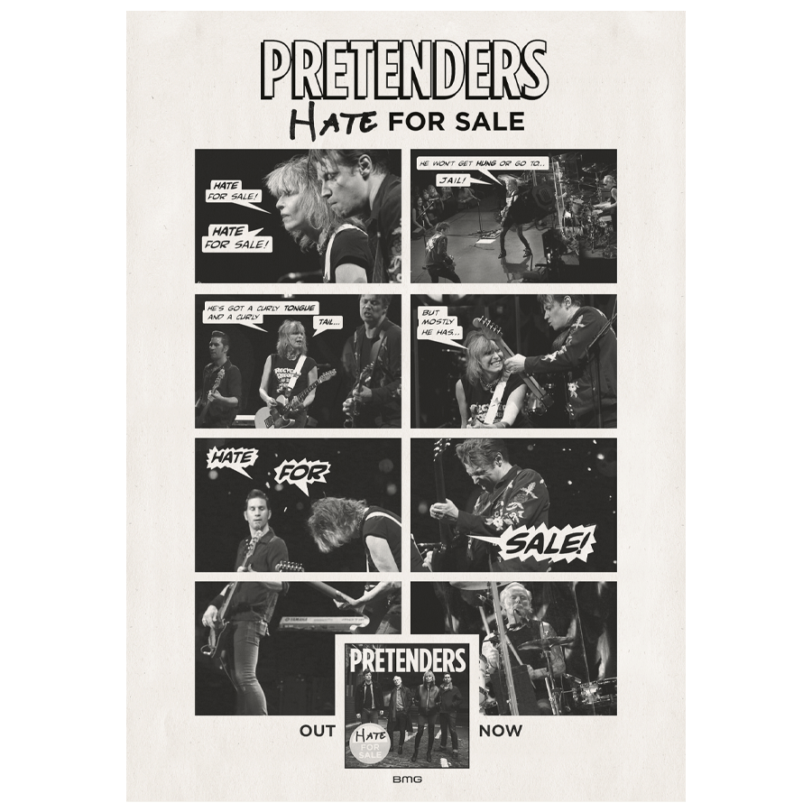 Buy Online The Pretenders - A1 Poster