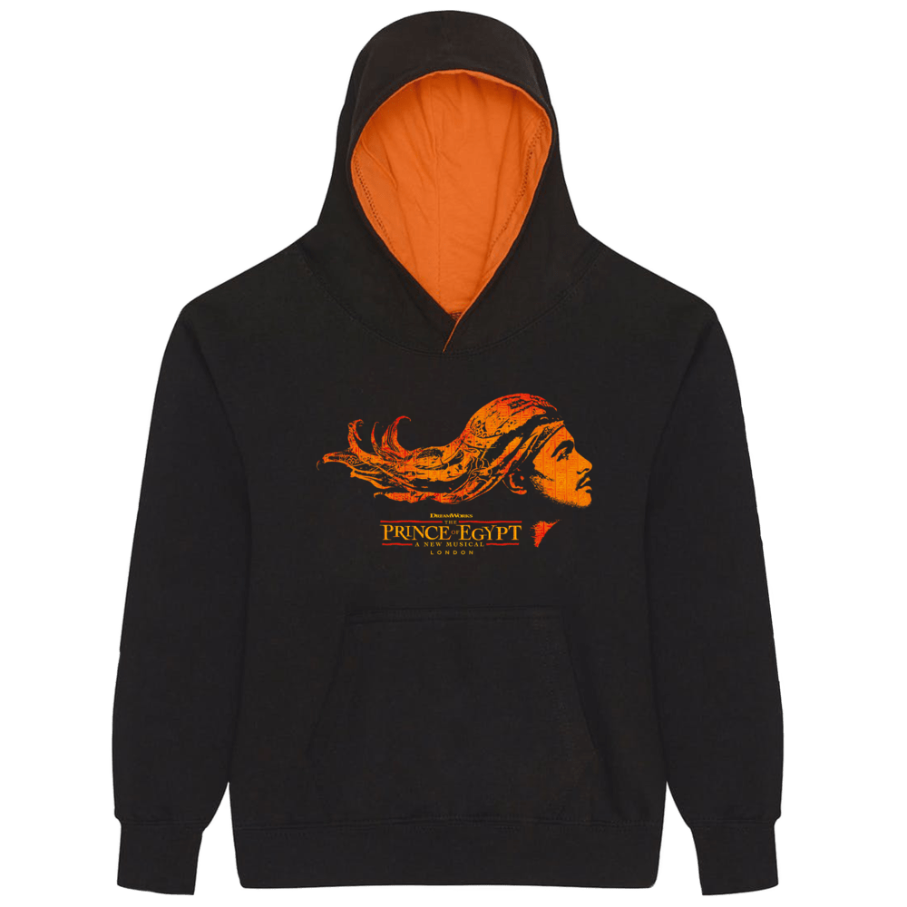Buy Online The Prince Of Egypt - Youth Logo Hoodie