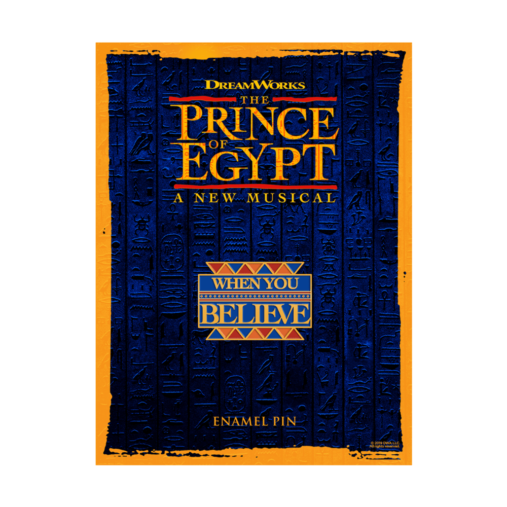 Buy Online The Prince Of Egypt - Pin Badge