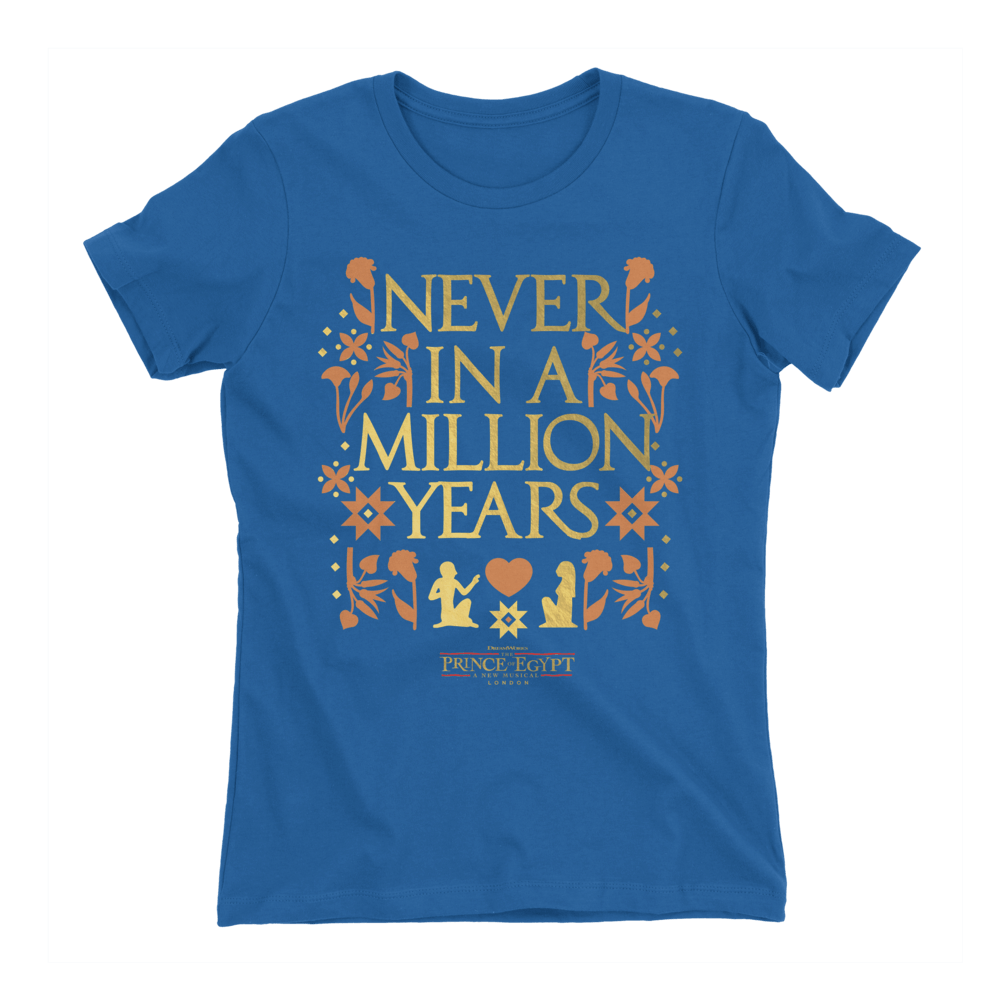 Buy Online The Prince Of Egypt - Never In A Million Years T-Shirt