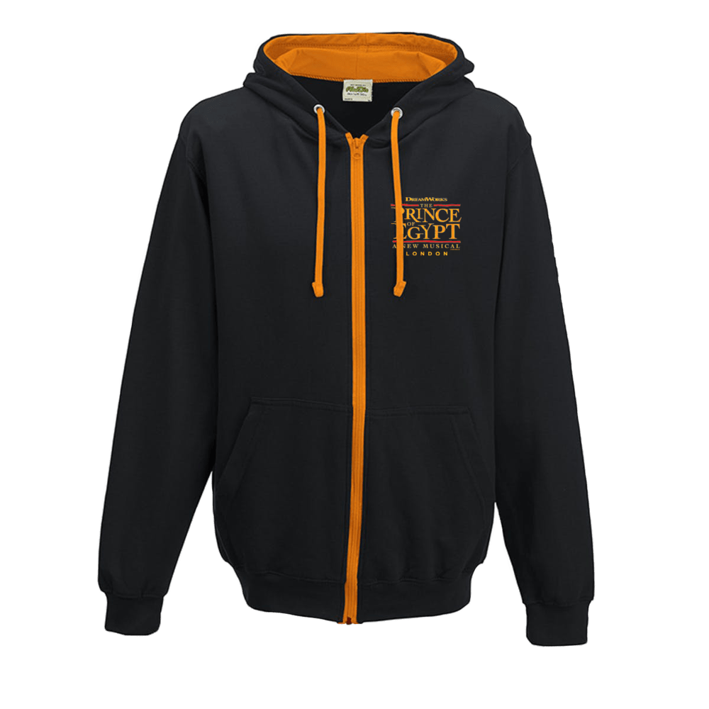 Buy Online The Prince Of Egypt - Logo Zip Hoodie