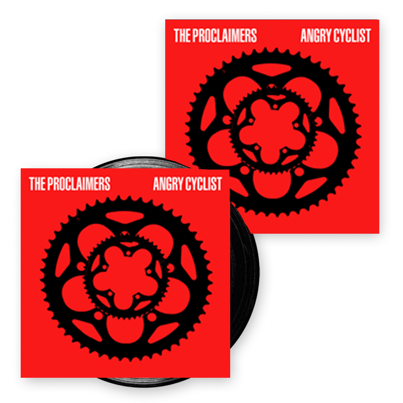 Buy Online The Proclaimers - Angry Cyclist Album LP + Signed Print