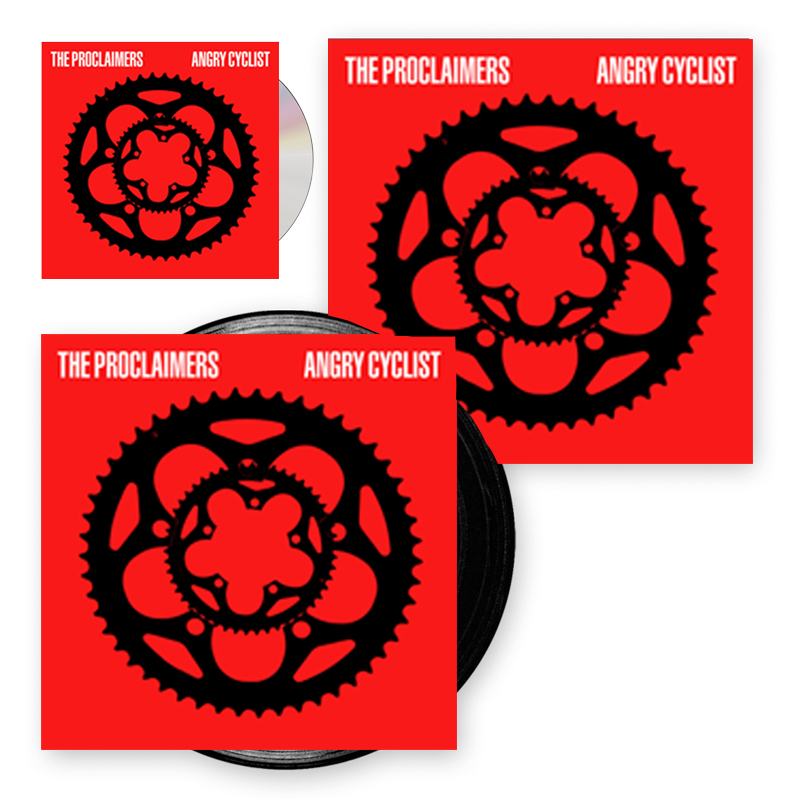 Buy Online The Proclaimers - Angry Cyclist CD + LP + Signed Print