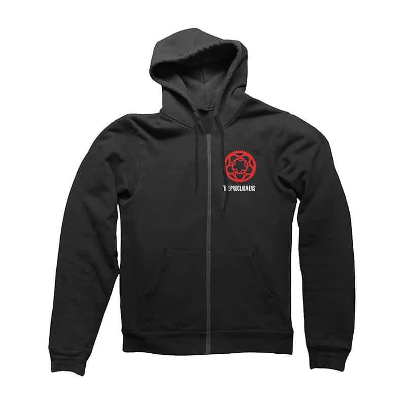 Buy Online The Proclaimers - Angry Cyclist Hoody