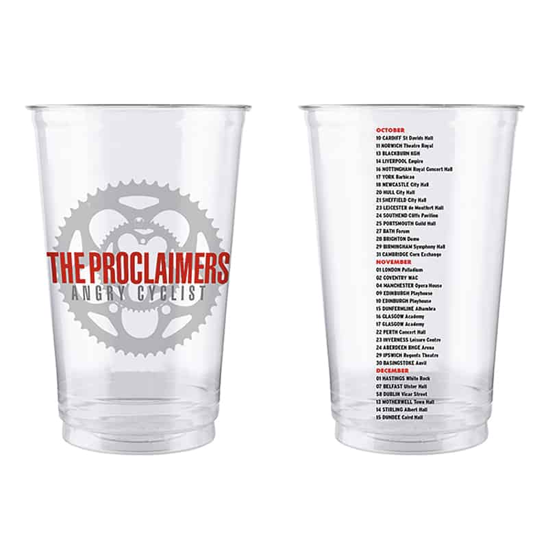 Buy Online The Proclaimers - Plastic Beer Glass