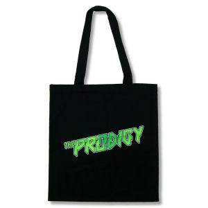 Buy Online The Prodigy - Green Logo Tote Bag