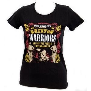 Buy Online The Prodigy - Brixton Warriors Skinny Ladies T-Shirt