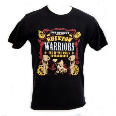 Buy Online The Prodigy - Brixton Warriors T-Shirt