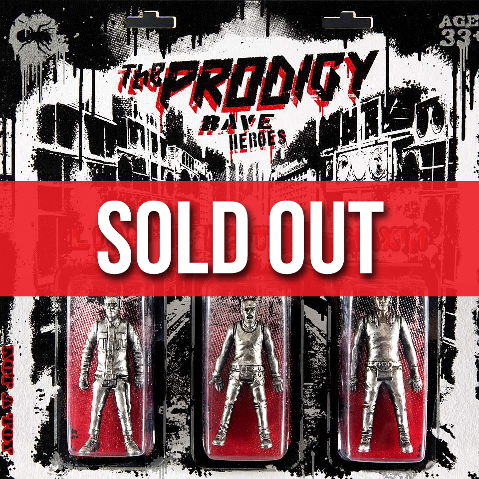 Buy Online The Prodigy - The Prodigy x Ryca 'Rave Heroes' Chrome Art figure Collabration