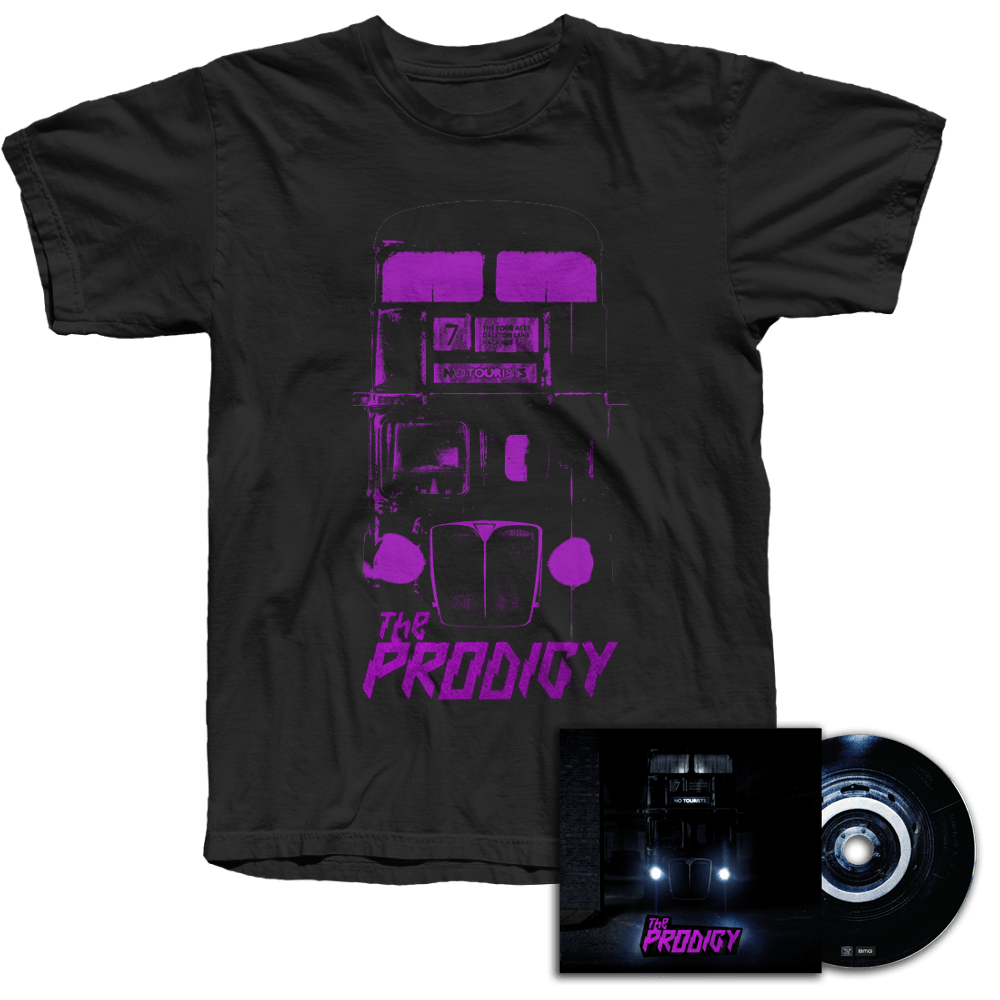 Buy Online The Prodigy - No Tourists CD & T-Shirt Bundle