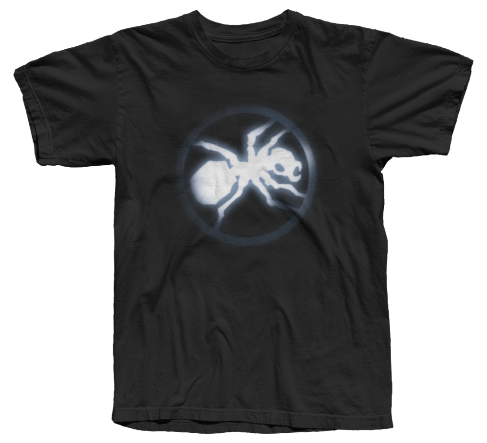 Buy Online The Prodigy - Glowing Ant T-Shirt Black