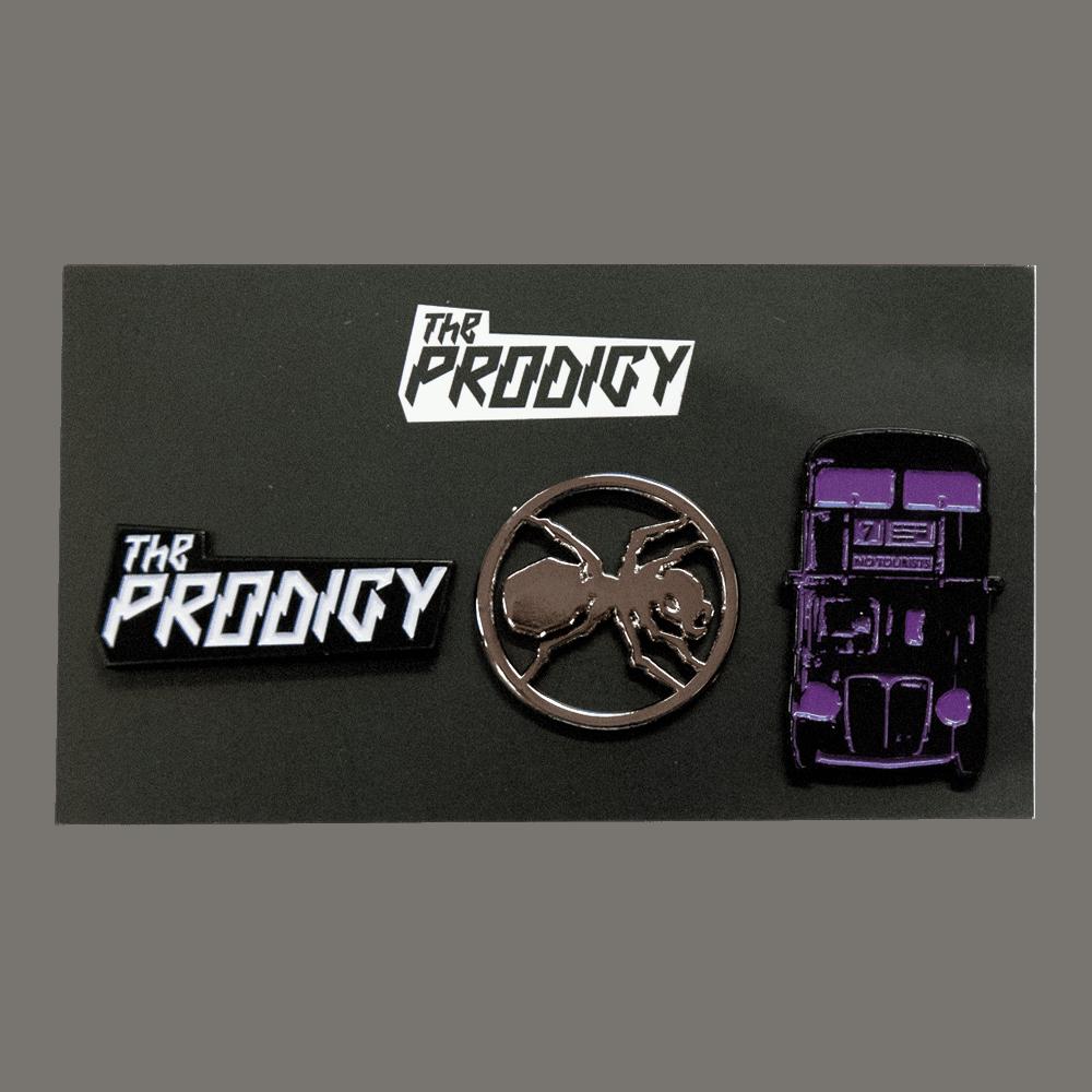 Buy Online The Prodigy - Logos Badge Set