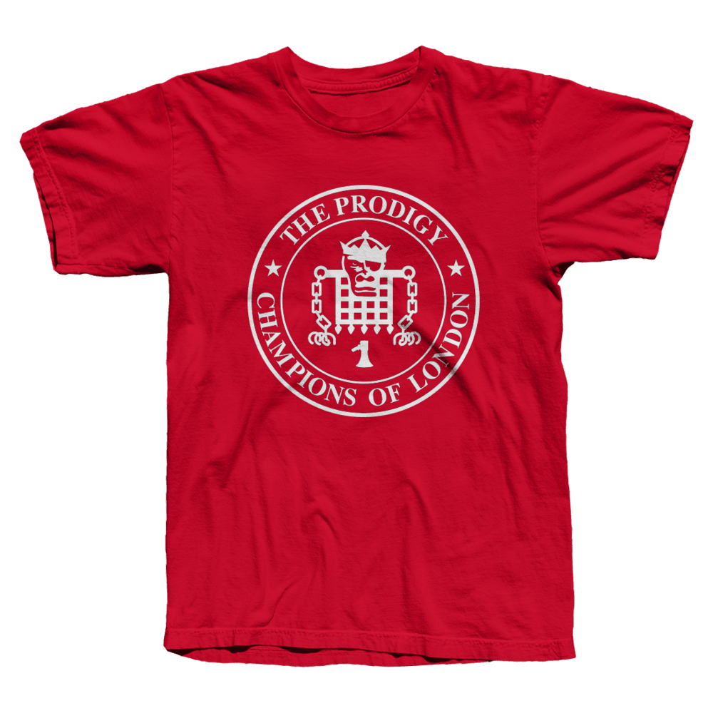 Buy Online The Prodigy - Champions Red T-shirt