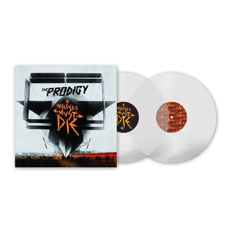 Buy Online The Prodigy - Invaders Must Die 10th Anniversary Clear Heavyweight Double LP