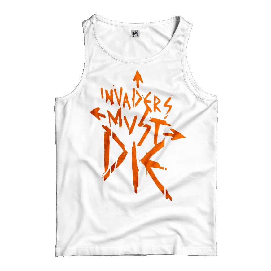 Buy Online The Prodigy - Invaders Must Die (Orange Print) Vest
