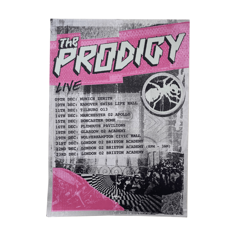 Buy Online The Prodigy - 2017 December Tour Poster