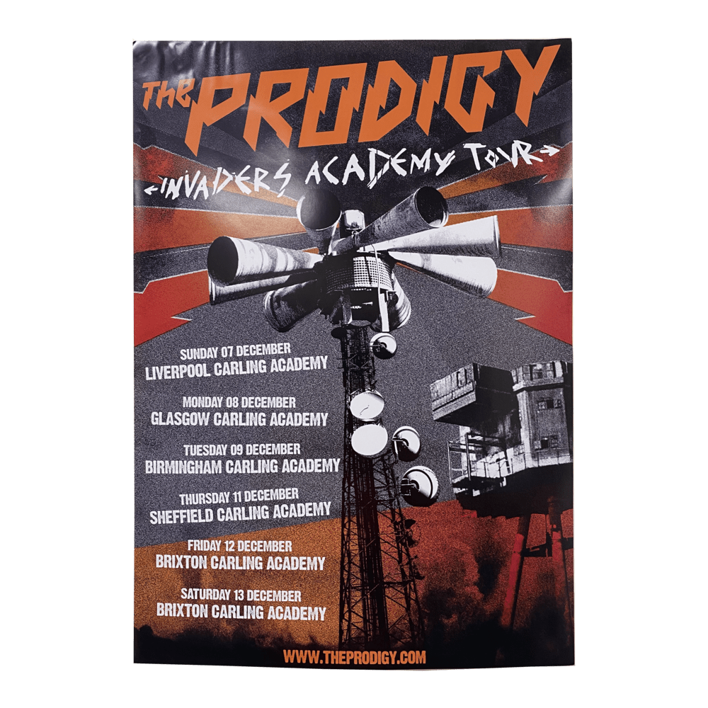 Buy Online The Prodigy - Invaders Academy A2 Tour Poster