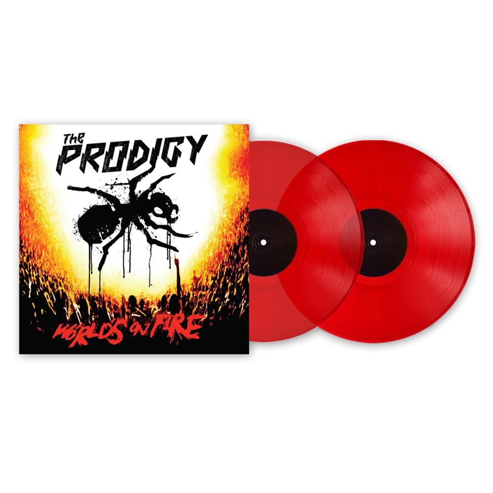 Buy Online The Prodigy - World's On Fire (Live at Milton Keynes Bowl) (2020 re-master) Vinyl