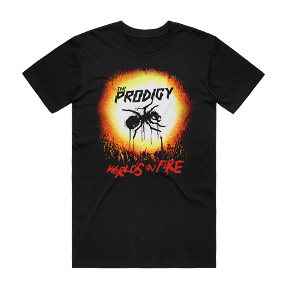 Buy Online The Prodigy - World's On Fire 2020 T-Shirt