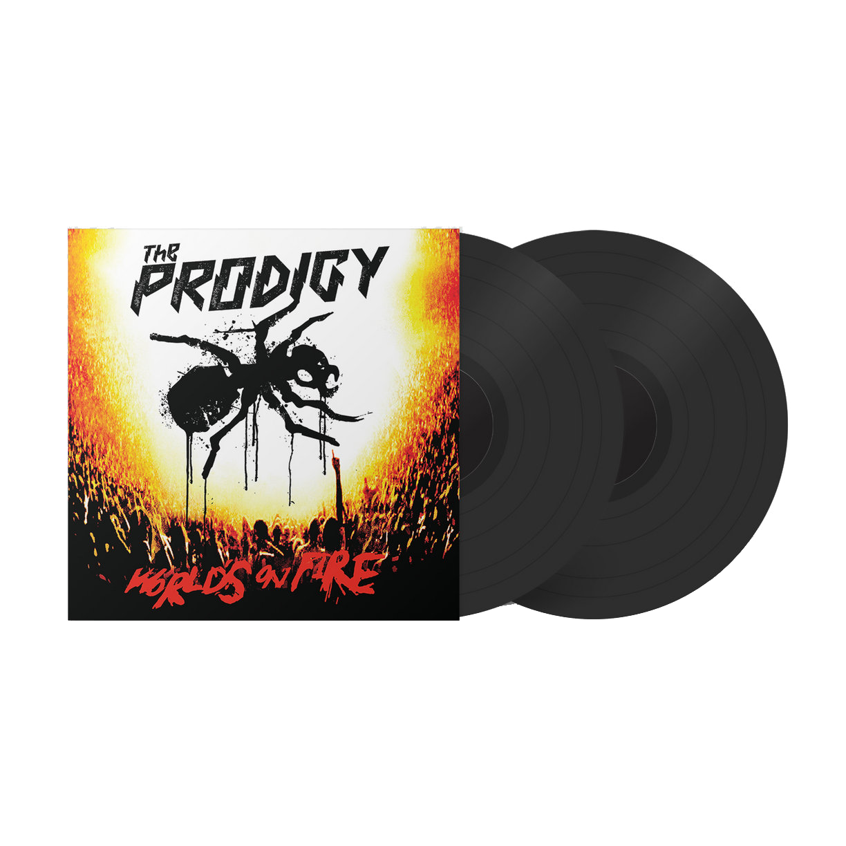Buy Online The Prodigy - World's On Fire (Live at Milton Keynes Bowl) (2020 re-master) Black Vinyl