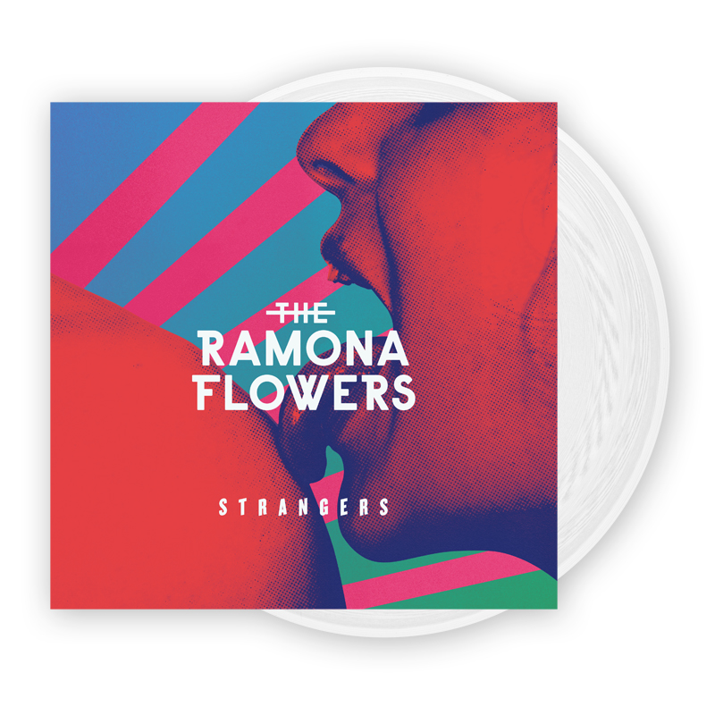 Buy Online The Ramona Flowers - Strangers 12-Inch White Vinyl LP (w/ Download Card) (Signed)