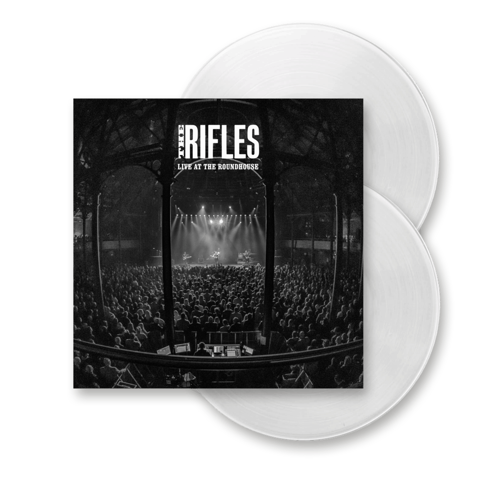 Buy Online The Rifles - Live At The Roundhouse Double White Vinyl