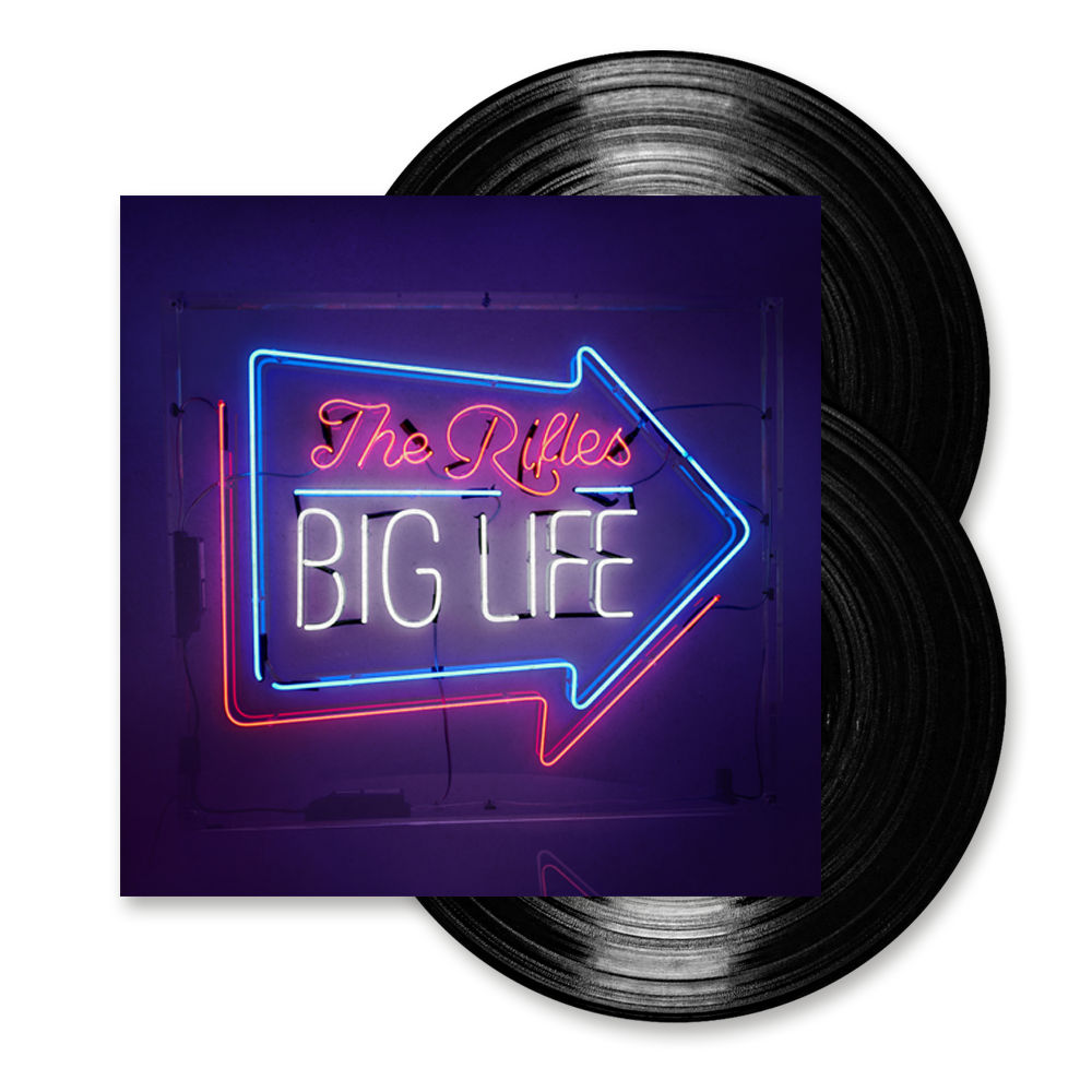 Buy Online The Rifles - Big Life