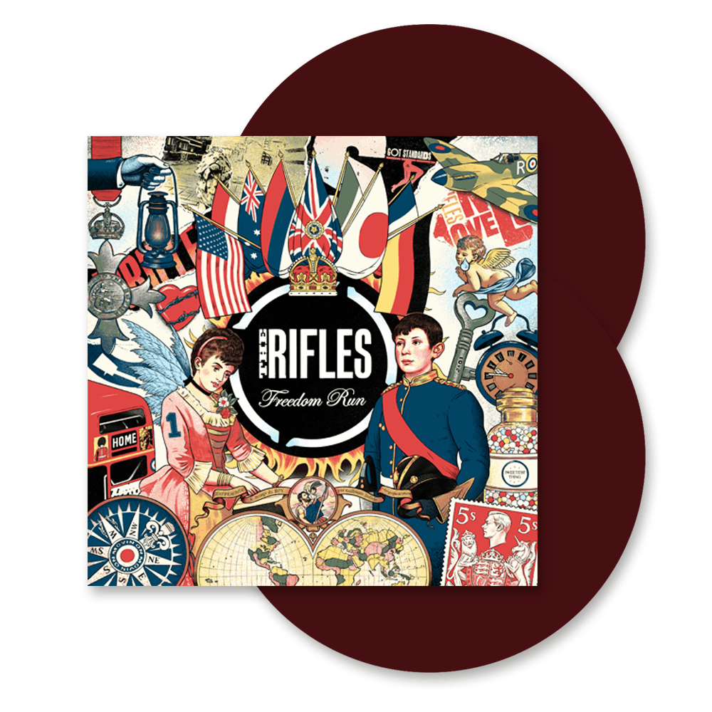 Buy Online The Rifles - Freedom Run Rosewood