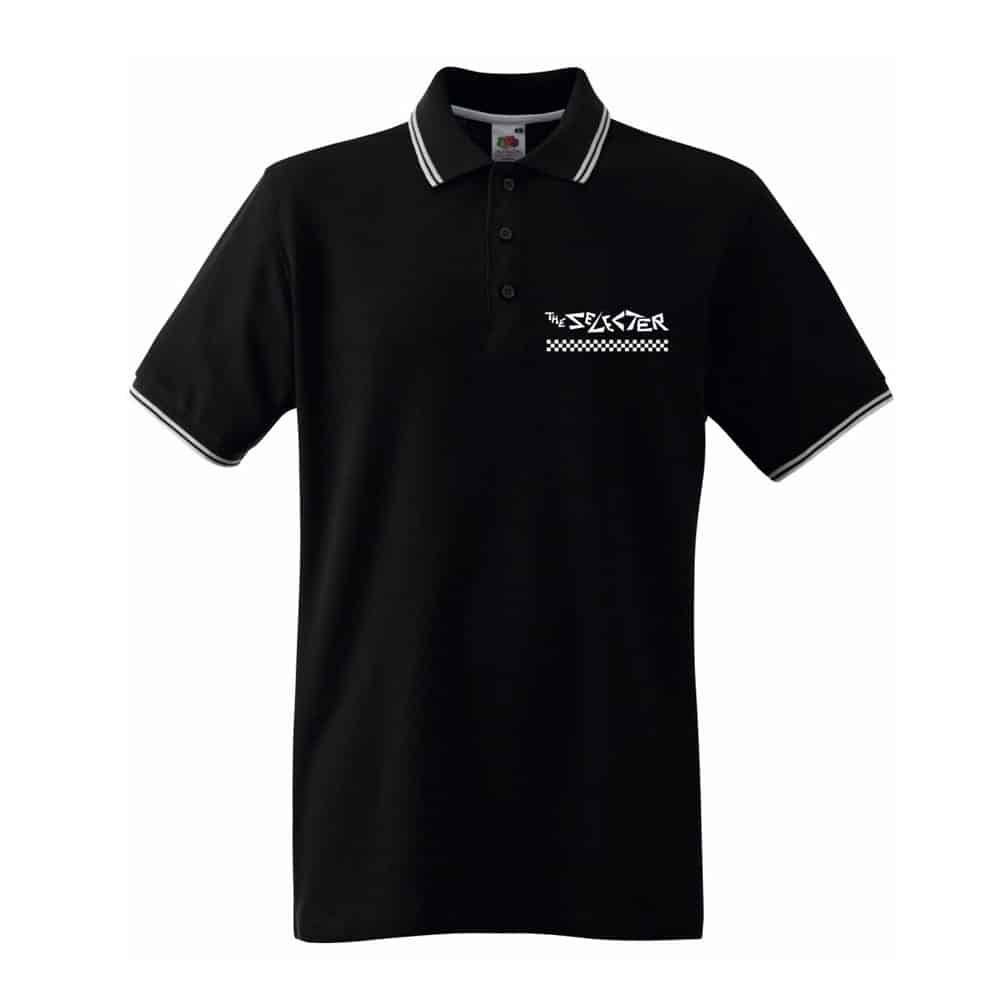 Buy Online The Selecter - Embroidered Polo Shirt