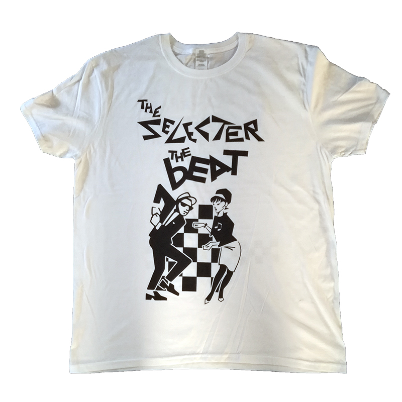 Buy Online The Selecter - 2017 Tour T-Shirt - Spring Dates - White