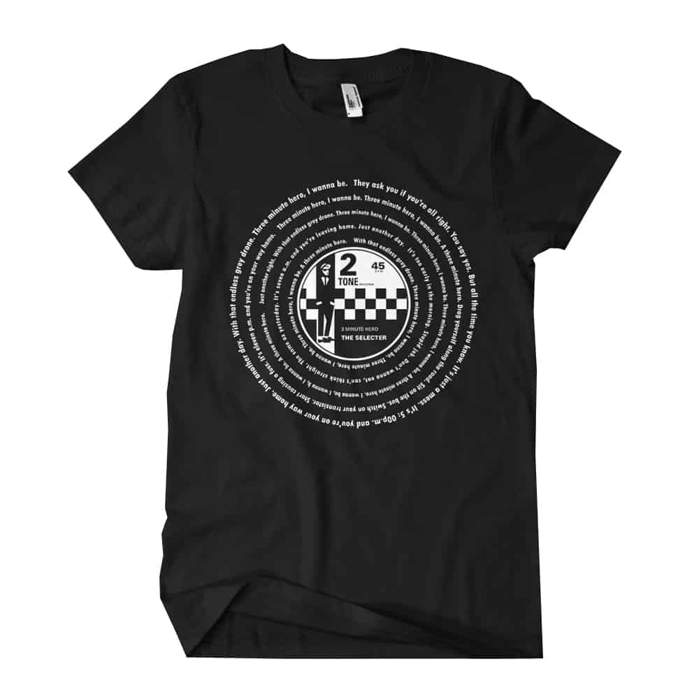 Buy Online The Selecter - 3 Minute Hero Tour T-Shirt (Black)
