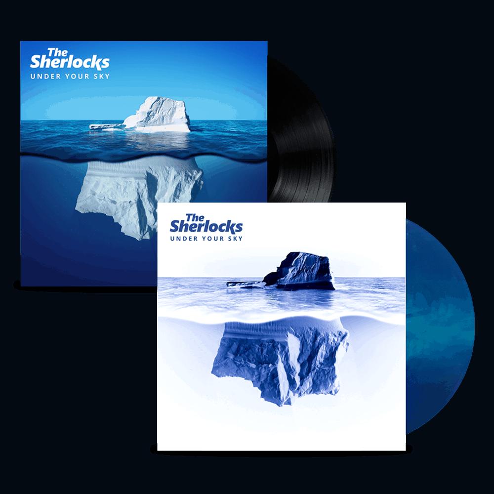 Buy Online The Sherlocks - Under Your Sky Vinyl (Signed) + Ltd Edition Vinyl (Signed)
