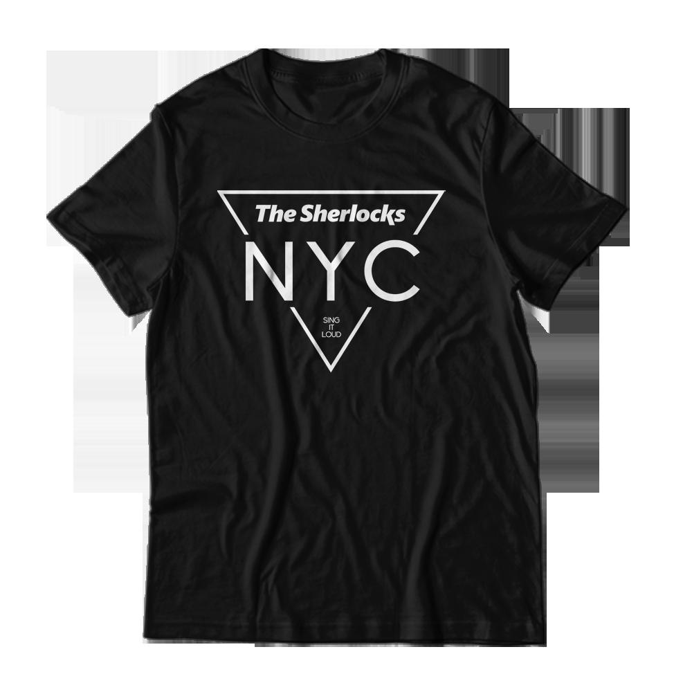Buy Online The Sherlocks - NYC Black T-Shirt
