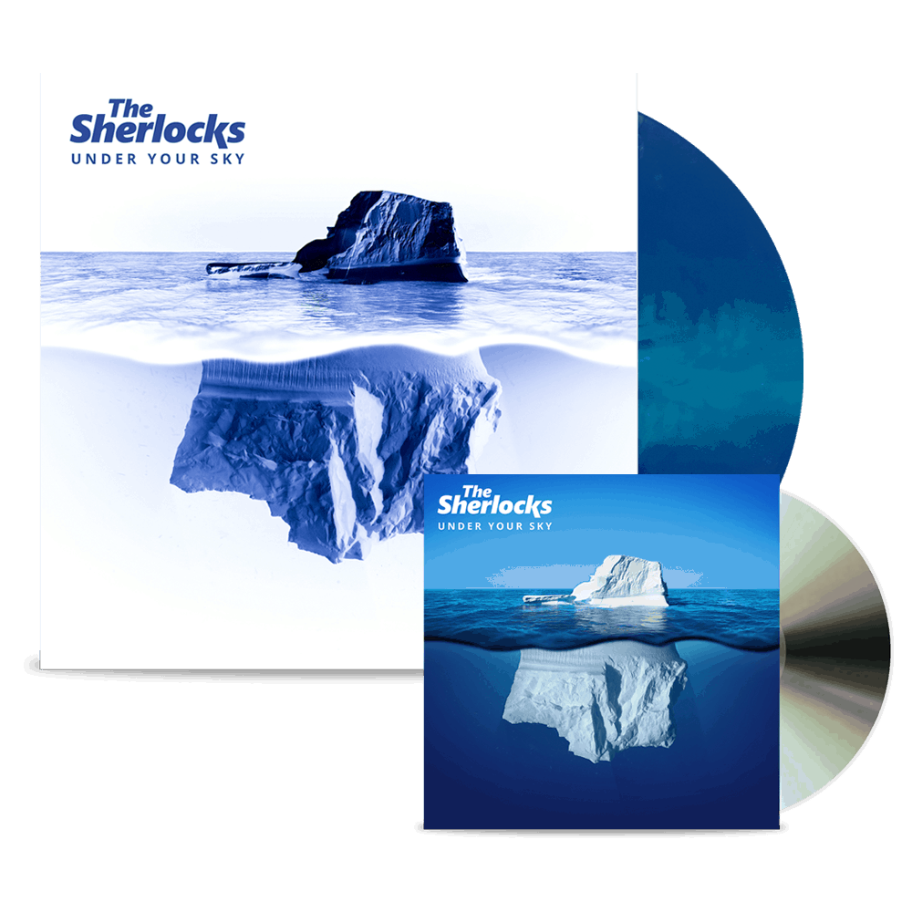 Buy Online The Sherlocks - Under Your Sky CD (Signed) + Ltd Edition Vinyl (Signed)