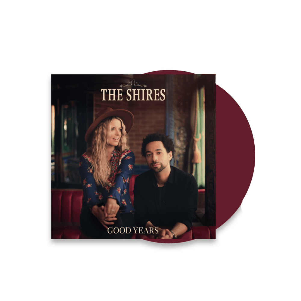 Buy Online The Shires - Good Years Limited Edition Red + 12 x 12 Inch Artwork Print (Signed)