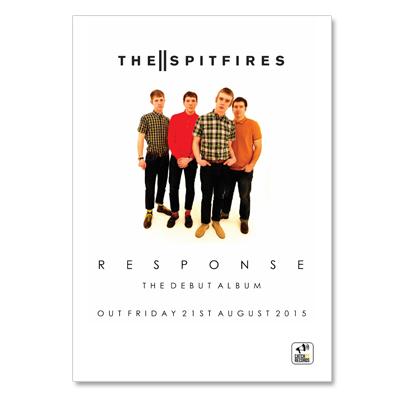 Buy Online The Spitfires - The Spitfires A2 Poster