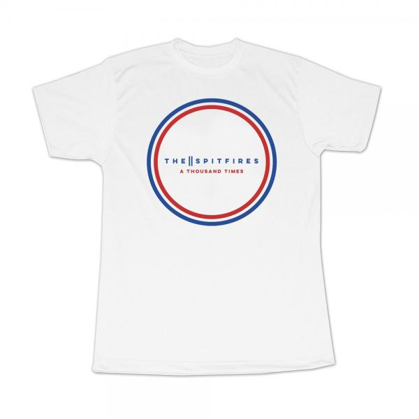 Buy Online The Spitfires - A Thousand Times White T-Shirt
